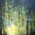 Alba sull'Adda. 50x70 olio su tela 2010