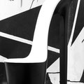 "Audeguille blanche et noir avec gravure ""ODEG"""