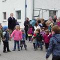 Vorführung des Weiler Kindergartens