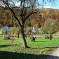 Skulpturenwiese am Wiesenweg      Foto: Martin Knaus