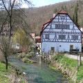 Untere Mühle an der Aach          Foto: Martin Knaus