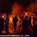 Dorfgemeinschaft d´Weilermer e.V. - 2012 : Foto Martin Knaus