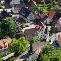 Blick in den Dorfkern      Foto: Hermann Stolz          Foto: Martin Knaus