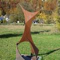 Skulptur am Wiesenweg von Martin Knaus         Foto: Martin Knaus