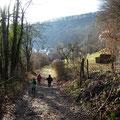 Blick auf Weiler von der Uli-Wielandhütte             Foto: Martin Knaus