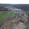 Blick auf Weiler von der Günzelburg                     Foto: Martin Knaus