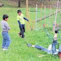小学生に遊ばれる大学生