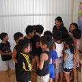 夏休み中の学童保育