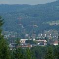 Bogenbrücke bei Freistadt aus einigen Kilometer Entfernung (300 mm Objektiv)