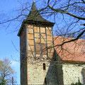 Start an der Kölzower Kirche