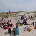 Attraktive Zwangspause am Strand von Markgrafenheide!