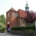 Anschließend ging es noch zur Stippvisite in die kleine Schlosskirche