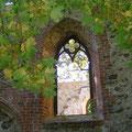 Die Kirchenruine Rolofshagen...