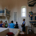 In der Kirche von Alt Schloen