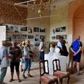Der Abstecher ins Kummerower Schloss begeisterte alle