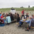 Stärkung am Strand von Ahrenshoop