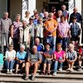 Das traditionelle Gruppenfoto der Wochenendtour