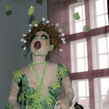 """Viel Spaß gab es in der Ausstellung """"Haute Couture"""" in Barth"""