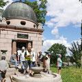 Das Mausoleum in Pohnstorf oder Reichtum durch Zement