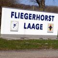 Kurzer Halt am Fliegerhorst Kronskamp
