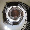 Die gefürchtete Wendeltreppe im Schloss Granitz