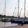 Start zur Tour am Rostocker Stadthafen