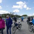 Ankunft am Hafen von Parow