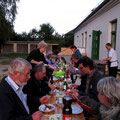 Grillparty am Haus Prillwitz