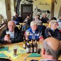 Mittagseinkehr im Kloster Rühn