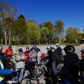 Start am Parkplatz Wreechener Weg in Putbus