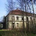 Blick auf das Daskower Schloss