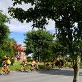 Am Sonntag waren, neben uns, auch dänische Rennradler unterwegs.