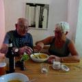 Familiäres Mittagsmenü