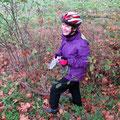 """Elfriede fand in der Birkenstr. die nächste Nachricht -""""Auf ins Warnowtal!"""" Upps: Nein Recknitz heißt der Fluss..."""