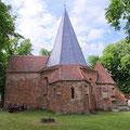 Die Oktogonkirche in Ludorf ist erreicht