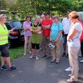 Start der Tour im Rundlingsdorf Lübeln