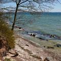 Steilküste in Neukamp