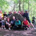 Gruppenfoto im Schwarber Märchenwald