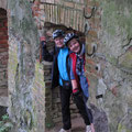 Die Ruine der Wassermühle in Wanzka
