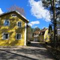 Ansicht Gästehaus und Haupthaus