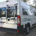 special Thule bike rack for the Fiat Ducato ordered from overseas