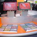 SIEMENS COM - Messestand auf der CeBIT - Interaktiv Touchpad