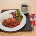 2.灯りの食邸KOKAJIYA 牛すじ肉と地場産トマトのハッシュドビーフ