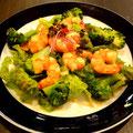 サラダ枠人気No.1「海老とブロッコリーのサラダ」