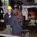 Visite d'une forge