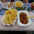 Currywust et pommesfrites