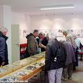 Fahrgäste vom Ostfalen Courier in der Touristinformation von Weferlingen — hier: Flecken Weferlingen