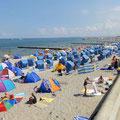 Kühlungsborn - Strand - voll und nur mit Kurkarte zu betreten