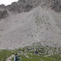 ca. 30 min. zum Einstieg in den Mindelheimer Klettersteig