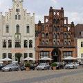 Wismar, unser erstes Etappenziel
